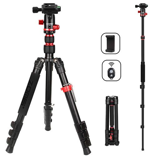 Camera Tripod Lightweight Travel Tripod