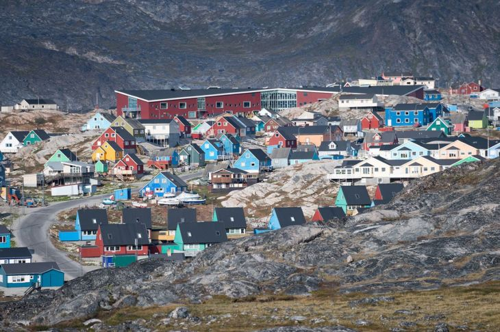 traveling to Greenland