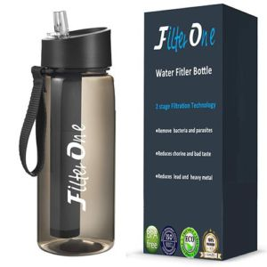 FilterOne Personal Water Filtered Bottle