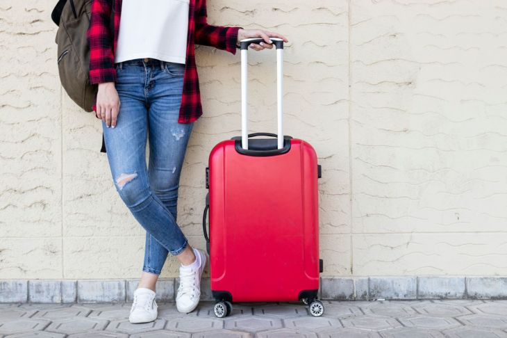 Travel Luggage and backpack