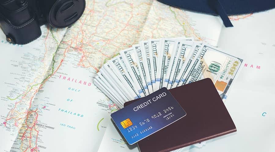 Travel rewards credit cards benefits
